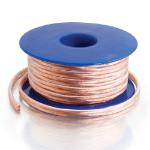 C2G 80529 15.24m Copper,Transparent audio cable