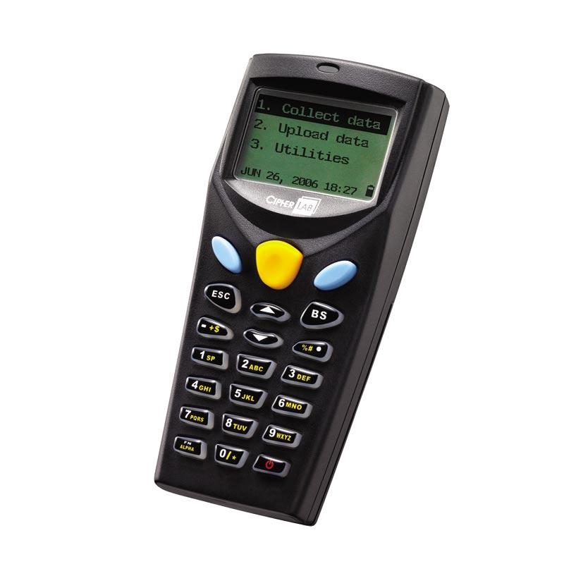 CipherLab 8001 handheld mobile computer 100 x 64 pixels 120 g Black