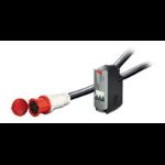 APC IT Power Distribution Module 3 Pole 5 Wire 63A IEC309 620cm unidad de distribución de energía (PDU) Negro 1 salidas AC