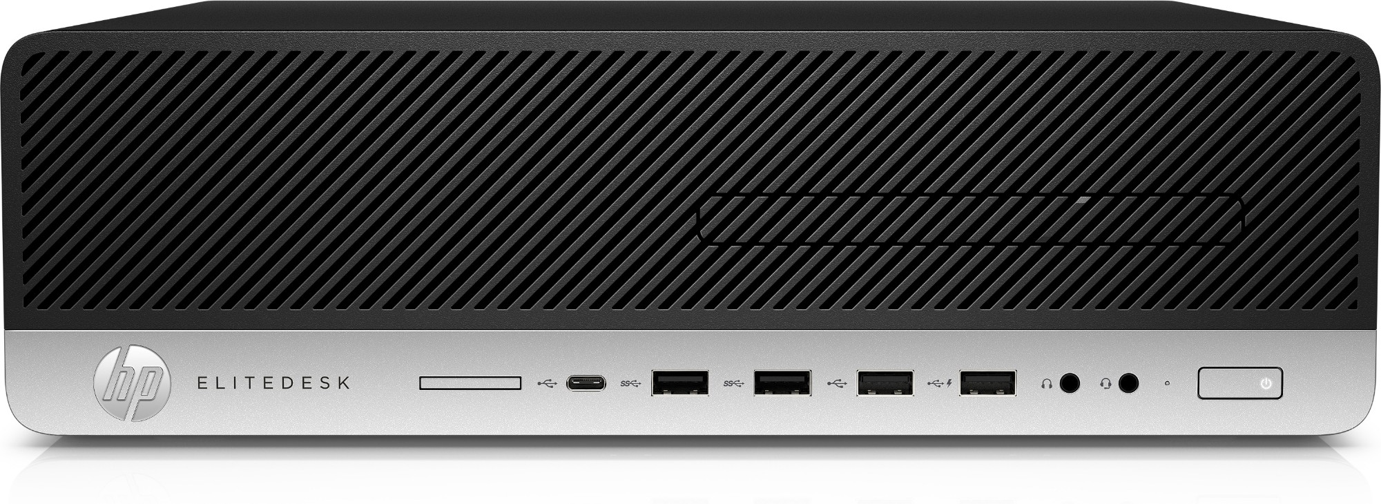 HP EliteDesk 800 G5 9th gen Intel® Core™ i7 i7-9700 16 GB DDR4-SDRAM 1000 GB SSD Black,Silver SFF PC