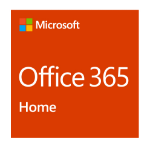 Microsoft Office 365 Home 6 license(s) 1 year(s) German