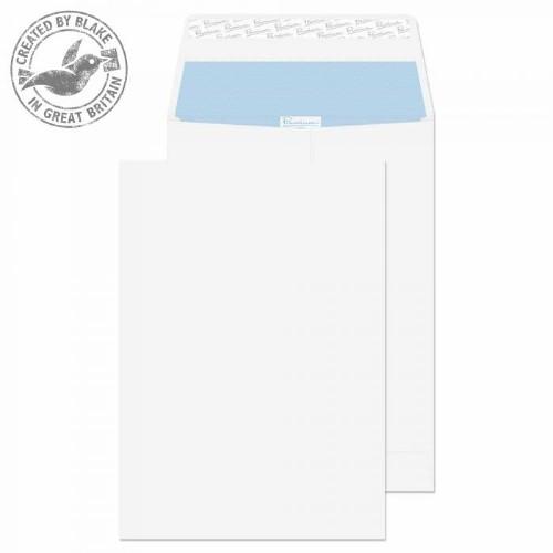 Blake Premium Office Gusset Peel and Seal Ultra White Wove B4 324x229x25mm 140gsm (Pk100)