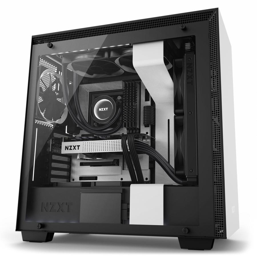 NZXT H700i Midi-Tower White computer case