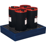 FSMISC 4 X 25 LITRE CAN TRAY BLUE 3127300