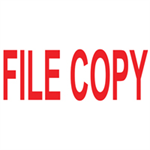 Colop GREEN LINE WORD STAMP FILE COPY