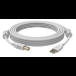 Vision 5m USB 2.0 USB Kabel USB A USB B Weiß
