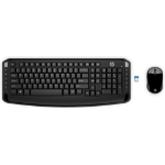 HP 300 keyboard RF Wireless Black