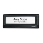 Fellowes 7703201 sign holder/information stand Steel Black