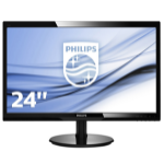 Philips V Line LCD monitor with SmartControl Lite 246V5LSB/00