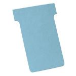 Nobo T-Cards Size 2 Blue (100) index card