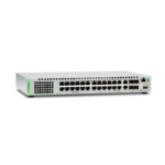 Allied Telesis AT-GS924MX Managed network switch L3 Gigabit Ethernet (10/100/1000) 1U White network switch
