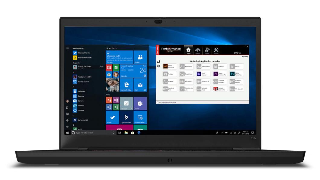 "Lenovo ThinkPad P15v Estación de trabajo móvil Negro 39,6 cm (15.6"") 1920 x 1080 Pixeles Intel® Core™ i7 de 10ma Generación 16 GB DDR4-SDRAM 512 GB SSD Wi-Fi 6 (802.11ax) Windows 10 Pro"