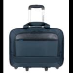 "Mobilis Executive 3 notebook case 40.6 cm (16"") Trolley case Black, Blue"