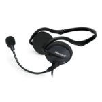 Microsoft LifeChat LX-2000 Binaural Neck-band Black headset
