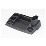 Avery DR400BLK Plastic Black desk tray