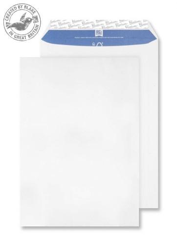 Blake Premium Pure Pocket Peel and Seal Super White Wove C4 324X229mm 120gsm (Pack 20)