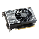 EVGA 04G-P4-6253-KR graphics card GeForce GTX 1050 Ti 4 GB GDDR5