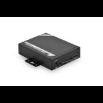 Digitus DS-55201 AV receiver Black AV extender