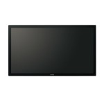 "Sharp PN-40TC1 Big Pad - Interactive Display - 40"" 1920 x 1080pixels Multi-touch Black touch screen monitor"