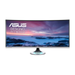 "ASUS MX38VC 95.2 cm (37.5"") 3840 x 1600 pixels UltraWide Quad HD+ LED Silver"
