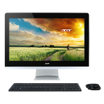 "Acer Aspire AZ3-715-UR51 2.8GHz i7-6700T 23.8"" 1920 x 1080pixels Touchscreen Black,Silver All-in-One PC"