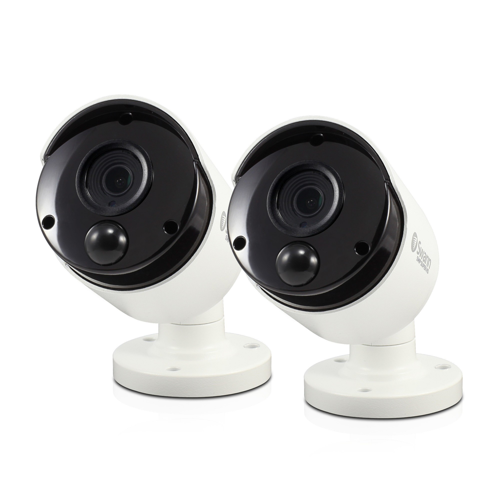 Swann SWPRO-5MPMSBPK2-UK security camera IP security camera Indoor & outdoor Bullet White