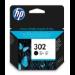 HP 302 Original Negro 1 pieza(s)