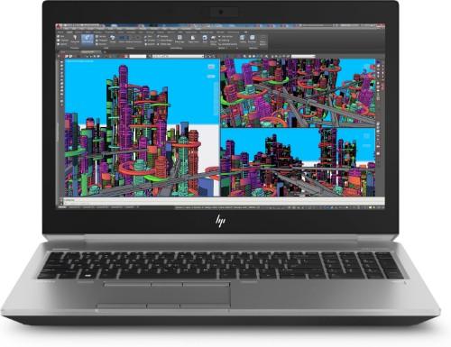 "HP ZBook 15 G5 2.6GHz i7-8850H 8th gen Intel® Core™ i7 15.6"" 1920 x 1080pixels Black, Silver Mobile workstation"