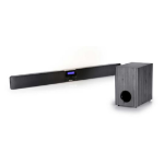 Sapphire SAERATO Wired & Wireless 90W Black, Grey soundbar speaker