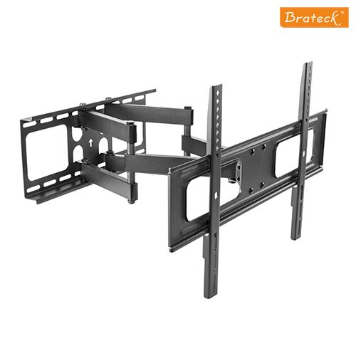 "Brateck Economy Solid Full Motion TV Wall Mount for 37""-70"" LED, LCD Flat Panel TVs"
