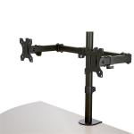 "StarTech.com ARMDUAL2 monitor mount / stand 32"" Clamp Black"