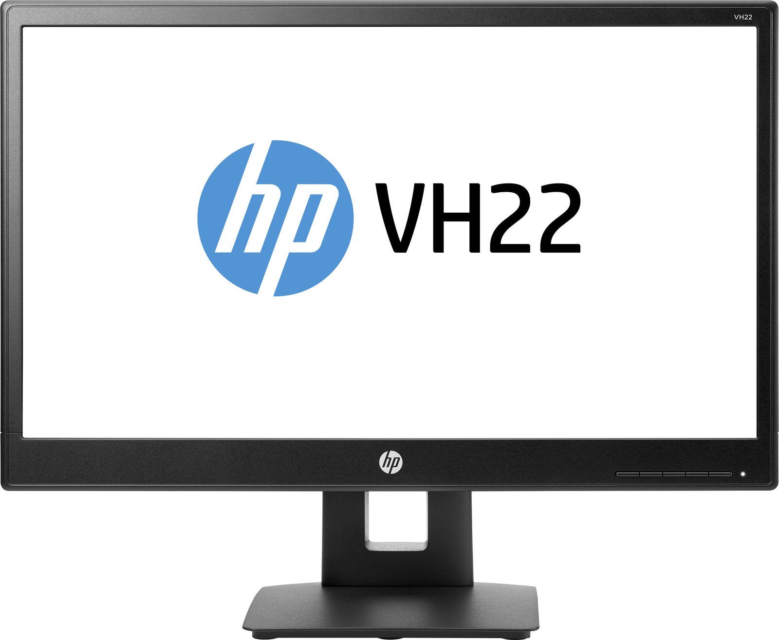 "HP VH22 computer monitor 54.6 cm (21.5"") Full HD LED Flat Black"
