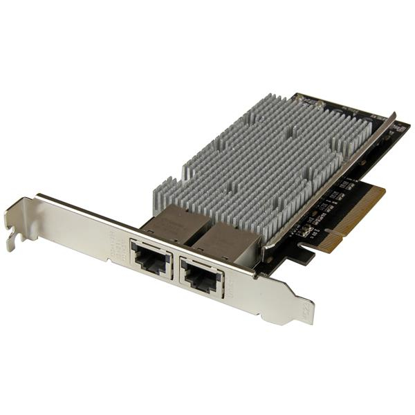 StarTech.com 2-Port PCI Express 10GBase-T Ethernet Network Card - with Intel X540 Chip