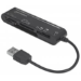 Manhattan 101998 USB 2.0 Black card reader