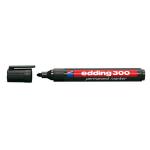 Edding 300 permanent marker Black 10 pc(s)