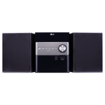 LG XBoom Micro Hi-Fi Home audio micro system Black 10 W