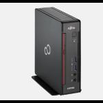 Fujitsu ESPRIMO Q556/2 Mini PC Black, Red Mini PC