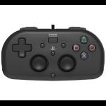 Hori Mini Black USB Gamepad PlayStation 4