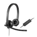 Logitech H570e Binaural Head-band Black headset