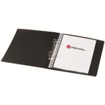 Rexel Budget 2 A5 Black ring binder