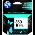 HP 350 originele zwarte inktcartridge