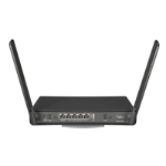 Mikrotik hAP ac³ wireless router Dual-band (2.4 GHz / 5 GHz) Gigabit Ethernet Black