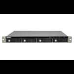 QNAP TS-431U NAS Rack (1U) Ethernet LAN Black