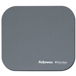 Fellowes Microban Mouse Pad Black Black