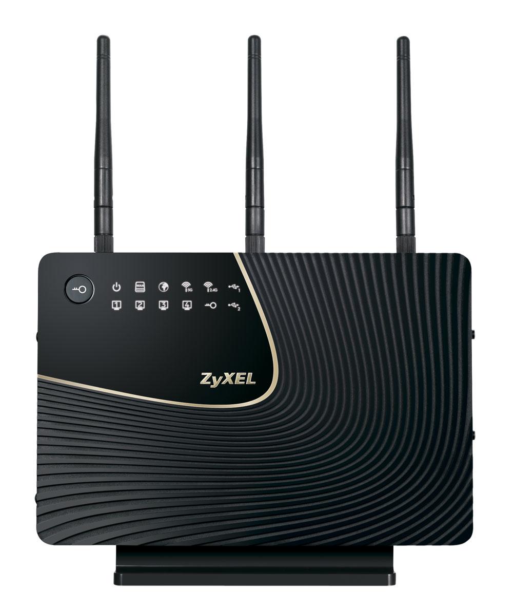 ZyXEL NBG5715 Dual-band (2.4 GHz / 5 GHz) Gigabit Ethernet Black wireless router