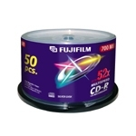 Fujifilm CD-R 700MB 52x, 50-Pk Spindle 50 pc(s)