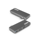 Urban Factory TCH02UF hub de interfaz USB 3.0 (3.1 Gen 1) Type-C Gris