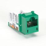 Black Box FM634 socket-outlet RJ-45 Green