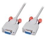 Lindy Sub-D/Sub-D 2m serial cable White