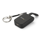 StarTech.com Portable USB-C to Mini DisplayPort Adapter with Quick-Connect Keychain